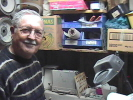 Larry in his shop