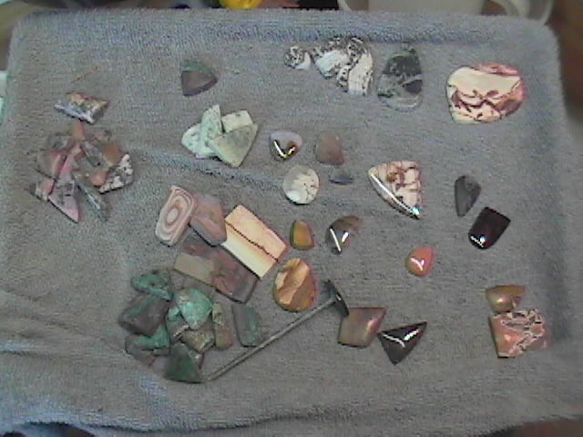 Cabochons in process